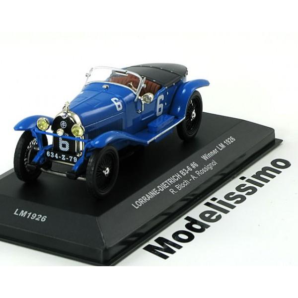 Lorraine-Dietrich B3-6 Winner 24h Le Mans