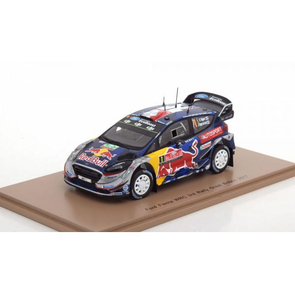 Ford Fiesta WRC No.1, Rally Great Britain