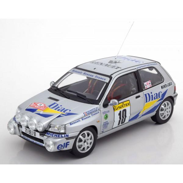 Renault Clio Williams No.10, Rally Monte Carlo