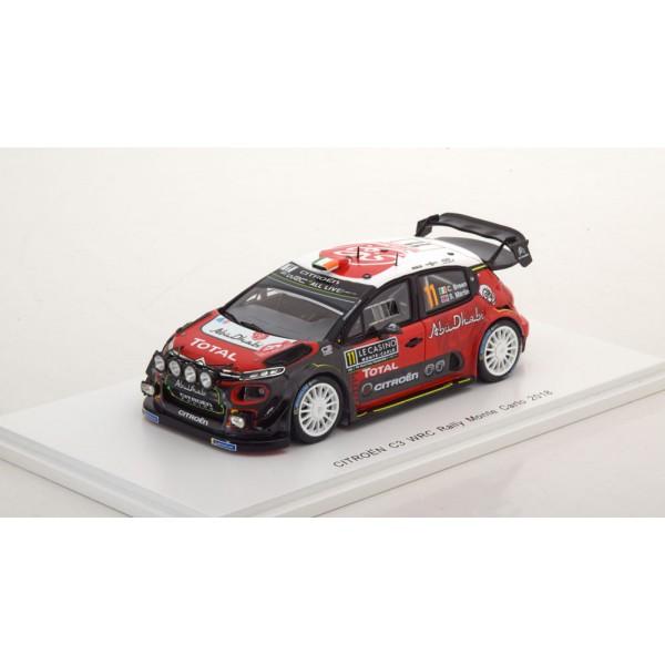 Citroen C3 WRC No.11, Rally Monte Carlo
