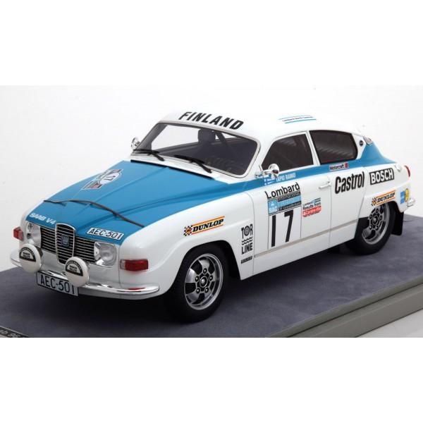 Saab 96 V4 No.17, RAC Rally