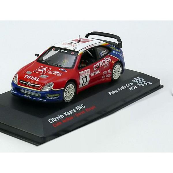 Citroen Xsara WRC No.17, Rally Monte Carlo
