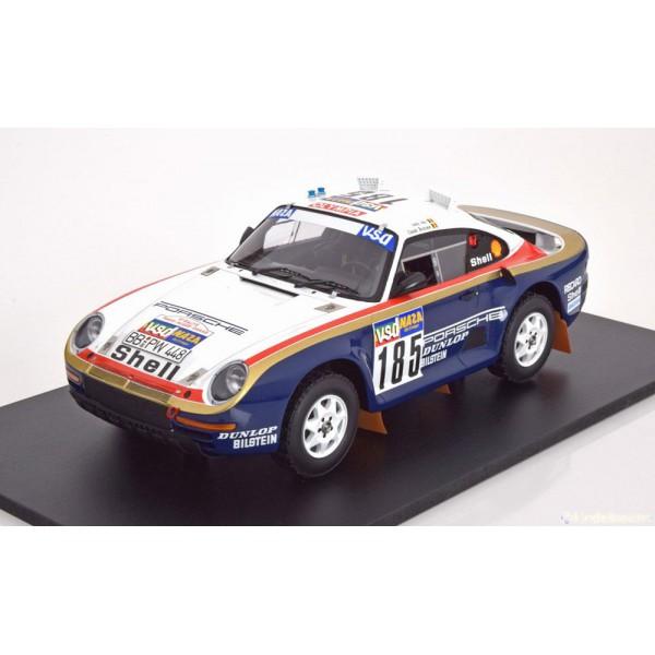 Porsche 959/50 No.185, Rally Paris-Dakar