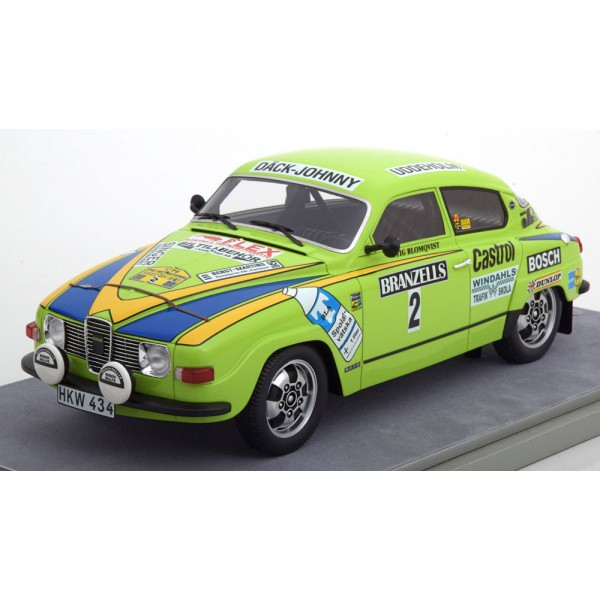 Saab 96 V4 No.2, Rally Sweden