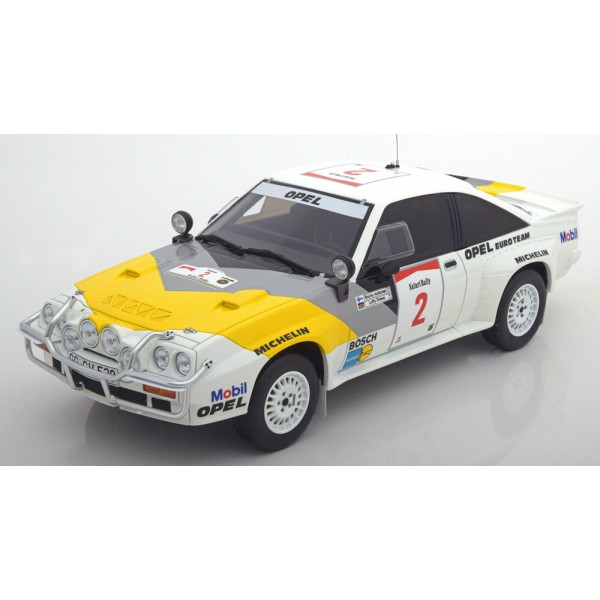 Opel Manta 400 Gr. B No.2, Safari Rally