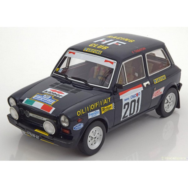Autobianchi A112 Abarth No.201, Rally 100.000 Trab...