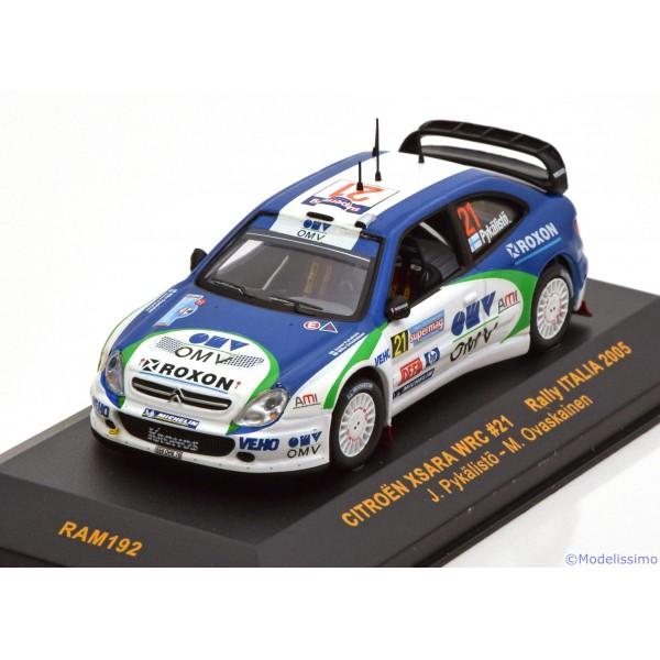 Citroen Xsara WRC No.21, Rally Italia