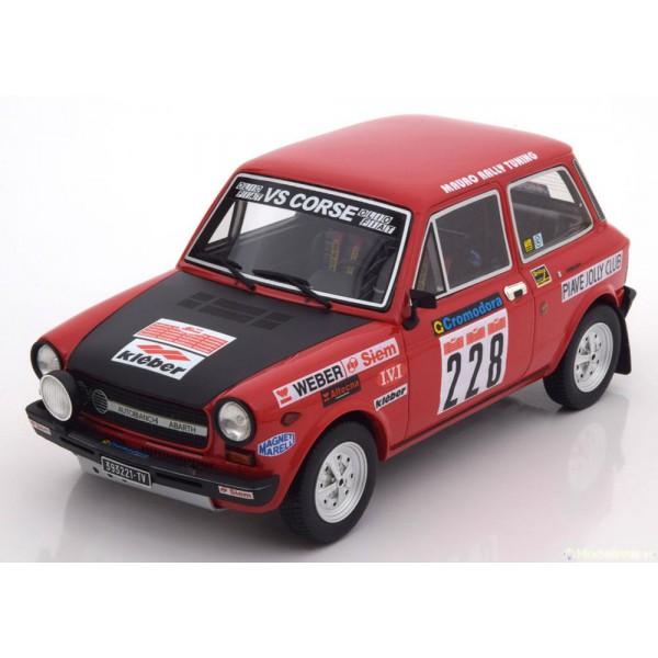 Autobianchi A112 Abarth No.228, Rally il Ciocco
