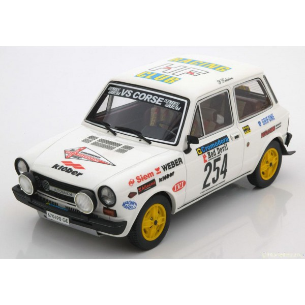 Autobianchi A112 Abarth No.254, Rally Valli Piacen...