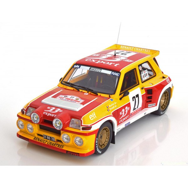Renault 5 Maxi Turbo No.27, Tour de Corse