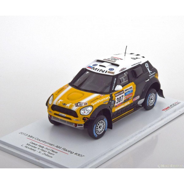 Mini Countryman All4 No.307, Rally Dakar