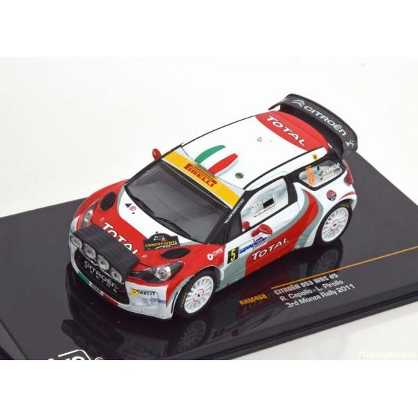 Citroen DS3 WRC No.5, Rally Monza