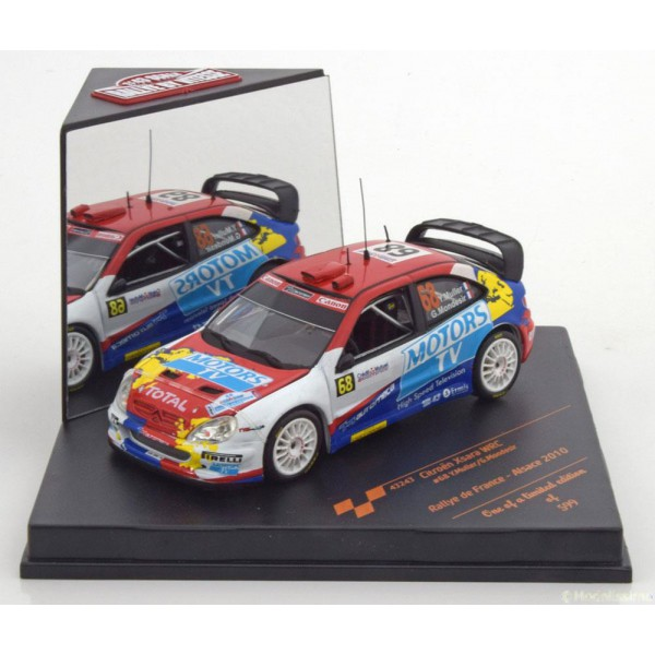 Citroen Xsara WRC No.68, Rally de France