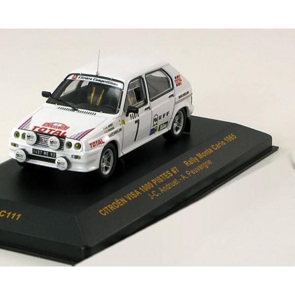 Citroen Visa No.7, Rally Monte Carlo