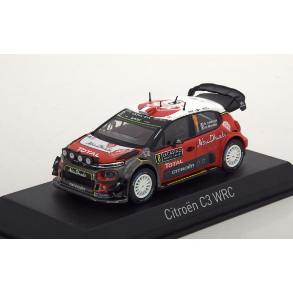 Citroen C3 WRC No.8, Rally Monte Carlo