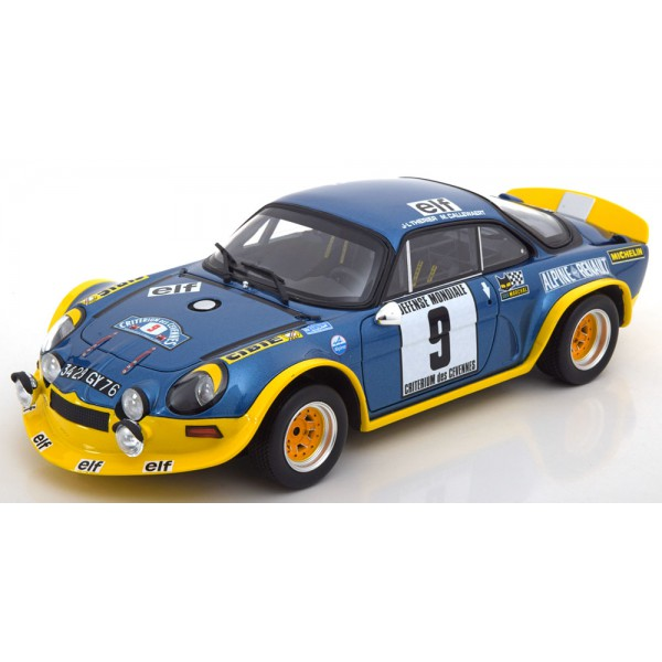 Renault Alpine A110 1600 No.9, Rally Cevennes