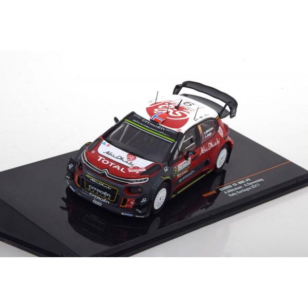 Citroen C3 WRC No.9, Rally Sardegna