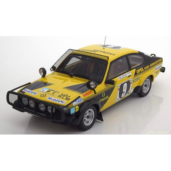 Opel Kadett C GTE No.9, Safari Rally