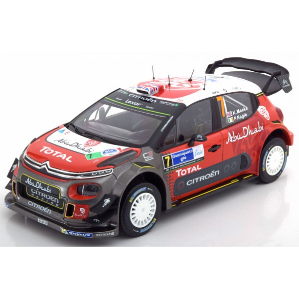 Citroen C3 WRC Winner Rally Mexico