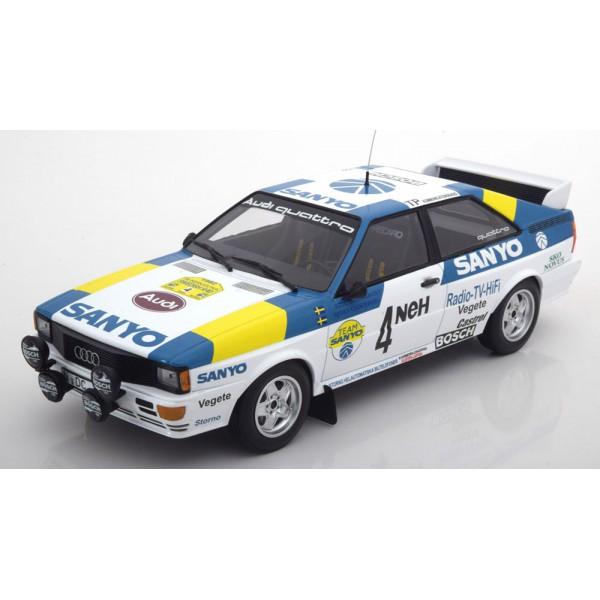 Audi Quattro Winner Rally Sweden