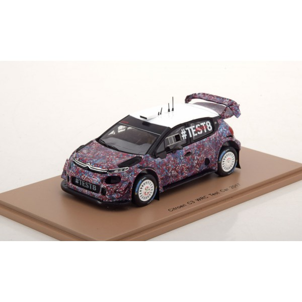 Citroen C3 WRC Test Car