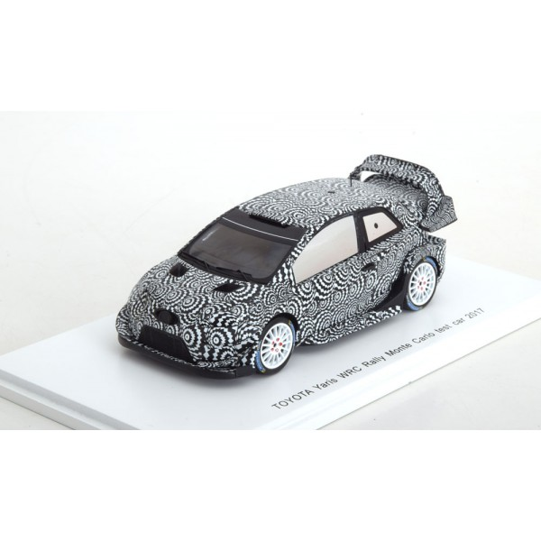 Toyota Yaris WRC Test Car Rally Monte Carlo