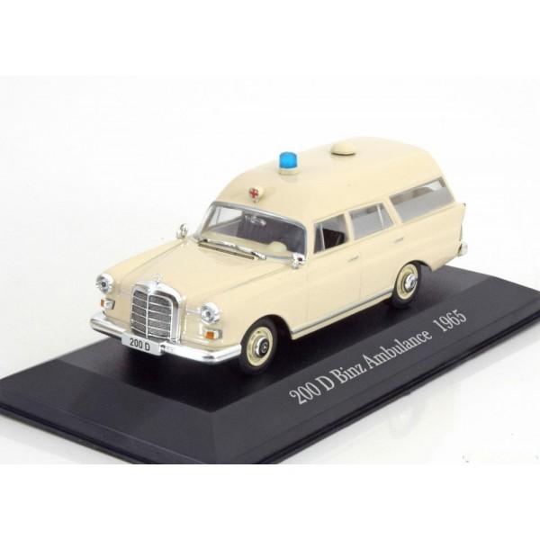 Mercedes 200 D Binz Ambulance