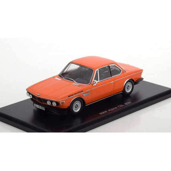 BMW Alpina CSL E9 orange
