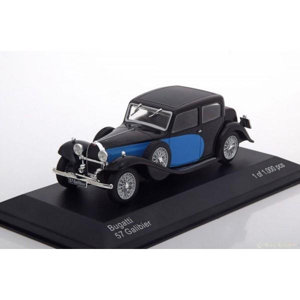 Bugatti 57 Galibier black/blue