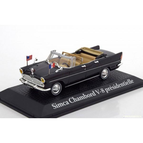 Simca Chambord V8 Presidentielle Charles de Gaulle