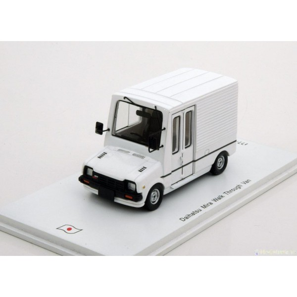 Daihatsu Mira Walk Trough Van white