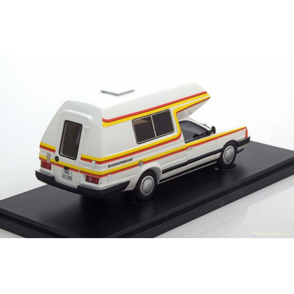 Audi 100 Bischofberger Family Camper 1985 Limited Edition 333 pcs.Autocult 1:43