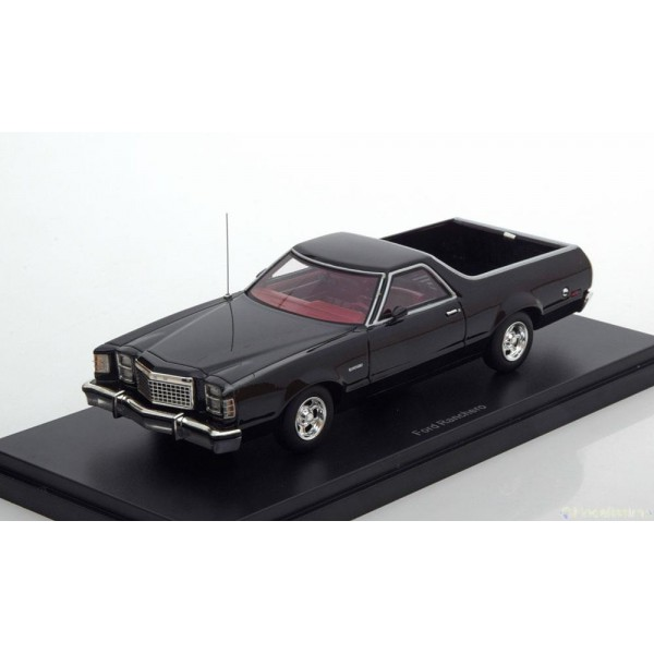 Ford Ranchero black