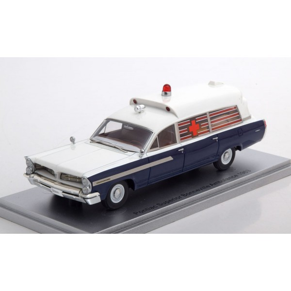 Pontiac Superior Bonneville J.F.K. Ambulance