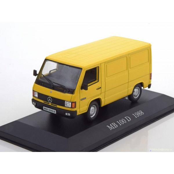 Mercedes 100 D delivery trucks