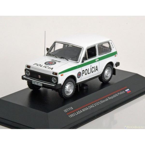 Lada Niva Policia