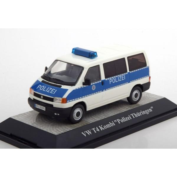 VW T4 Bus Police Thringen