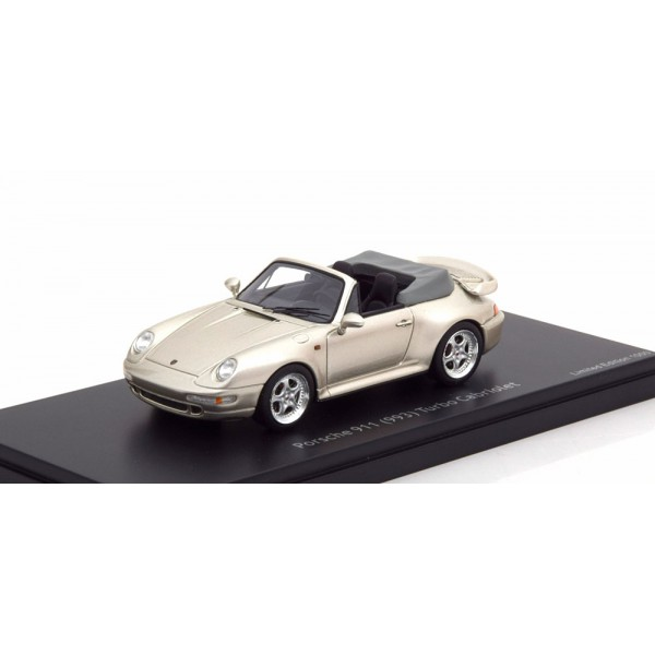 Porsche 911 (993) Turbo Cabriolet silvergrey