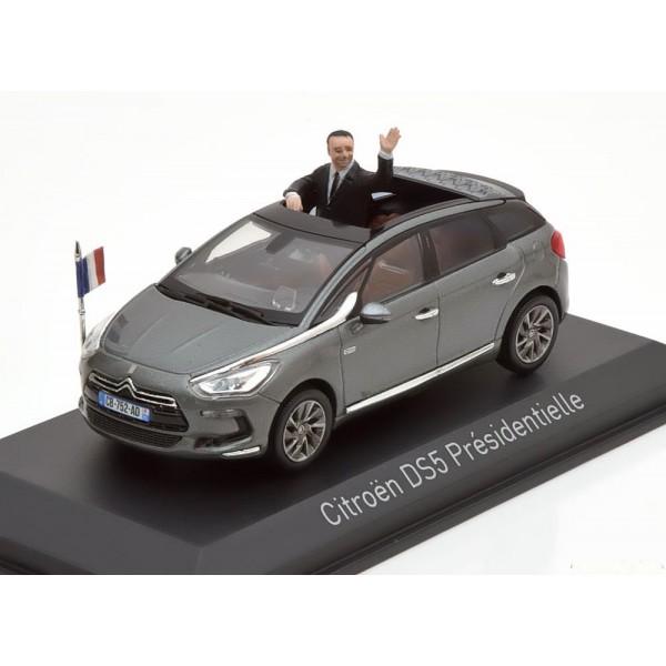 Citroen DS5 Prsidentielle with figurine