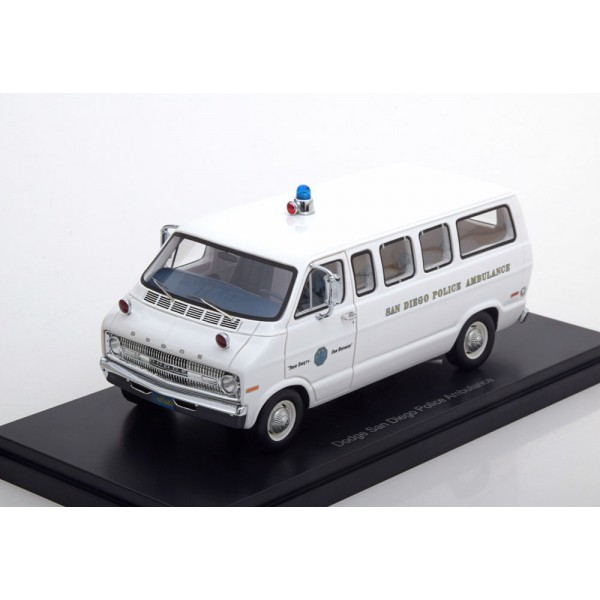 Dodge Sportsman San Diego Police Ambulance