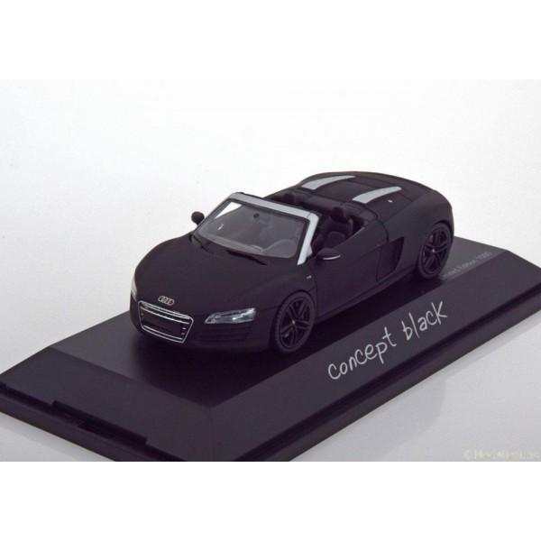 Audi R8 Spyder concept black