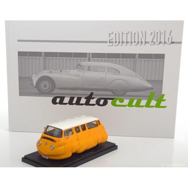 VW T2b Currywurst with book (german)